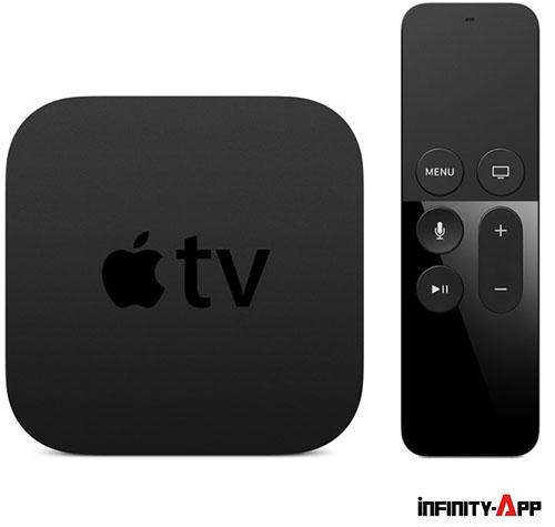 AppleTVとリモコン